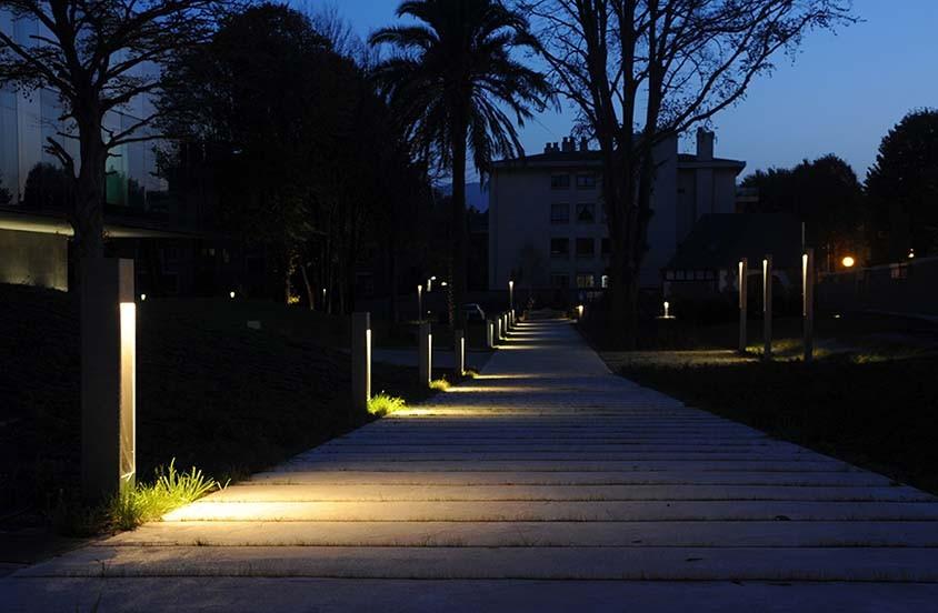 Iluminacion BiscayTIK BLUX