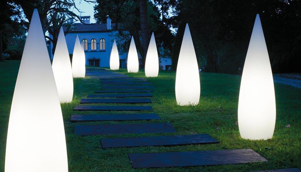 Lámparas de exterior. Colección outdoor. B.lux.