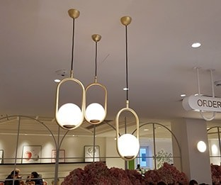 Cafeteria in Selfridges